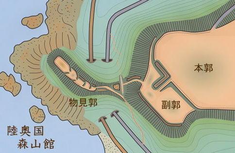 森山館 -陸奥の城ー