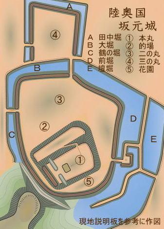 坂元城 -陸奥の城ー