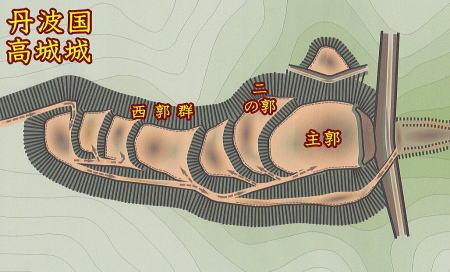 高城城 -丹波の城ー
