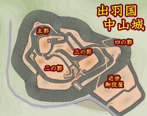 中山城 -出羽の城ー